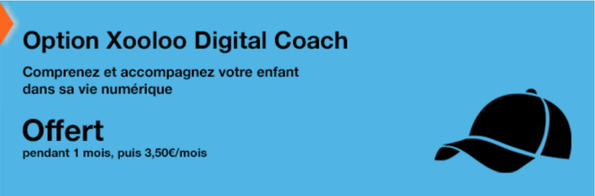 Orange propose l'option Xooloo Digital Coach