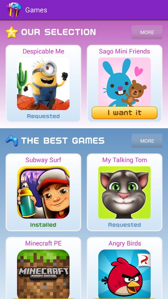 Xooloo App Kids sélection jeux et meilleur jeux pour enfants